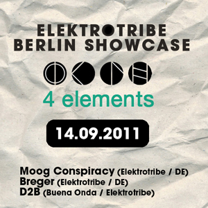 Elektrotribe Summer Tour : PARIS